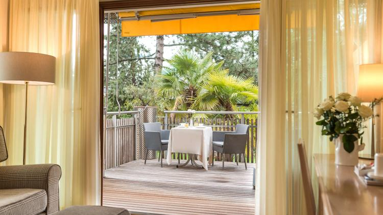 Juniorsuite con balcone